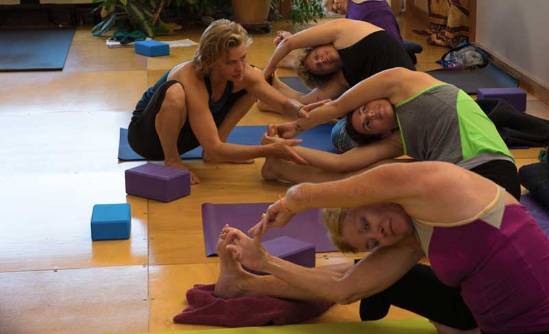 Yoga Instruction year 'round at Junction Center Yoga Studio in Door County, W