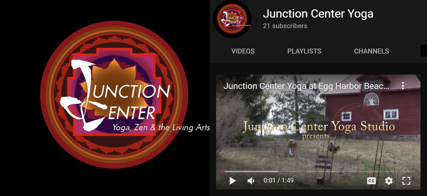 Junction Center Yoga YouTube channel