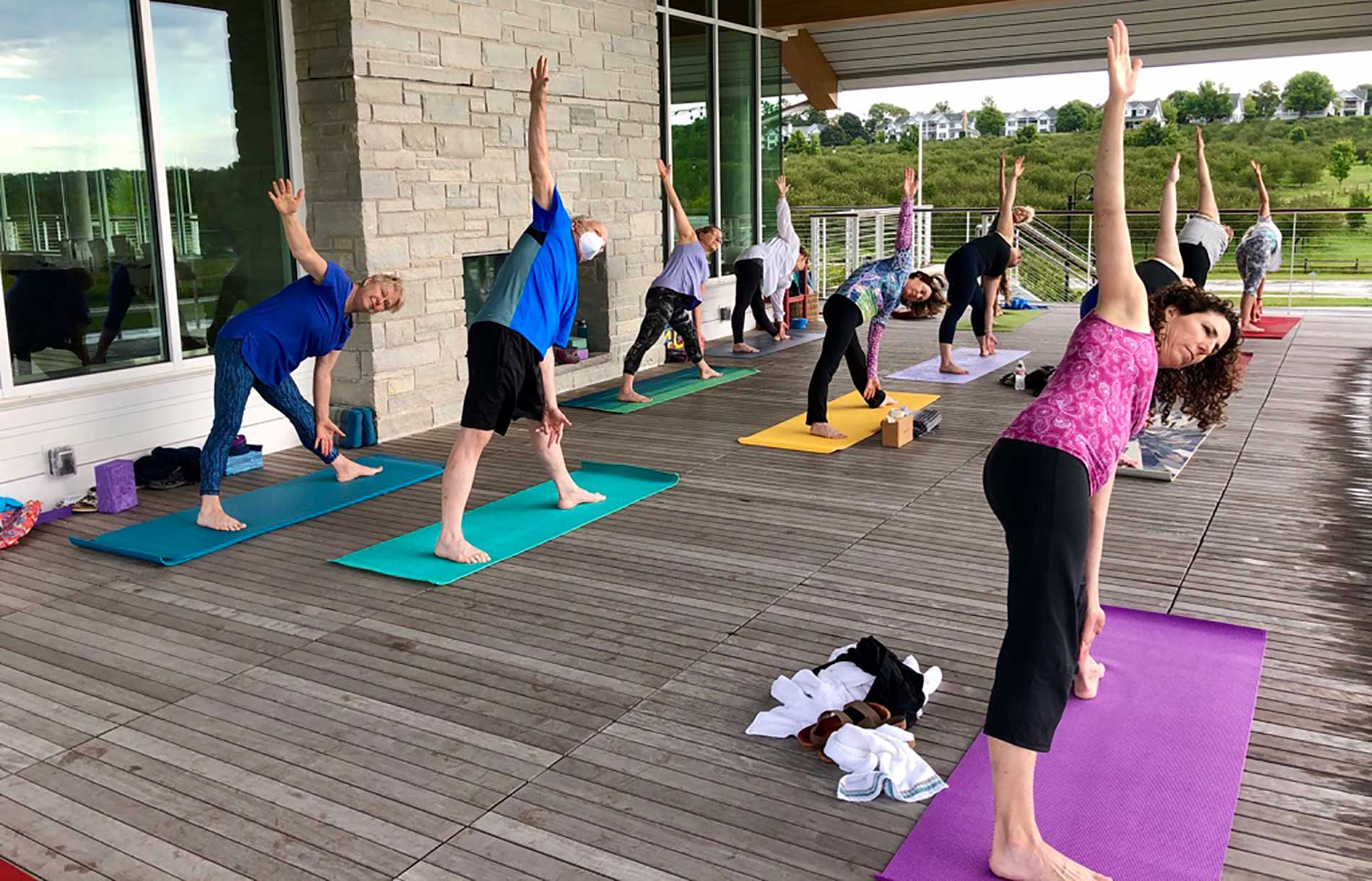 Yoga Classes at Kress and on Zoom